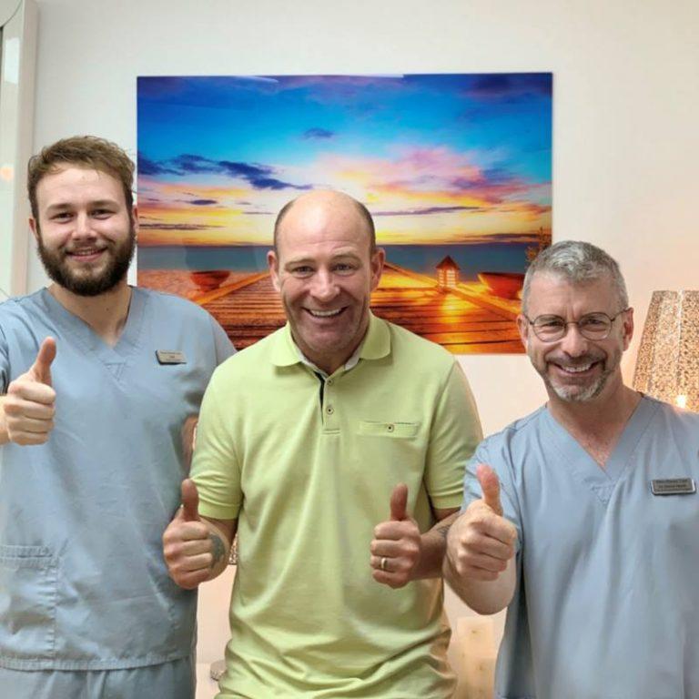Happy Dental Implant Patient