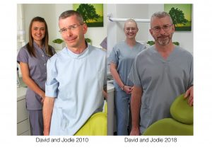 Dentist David Heath and Dental Nurse Jodie